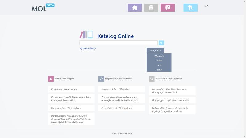 Katalog on-line MOL NET+